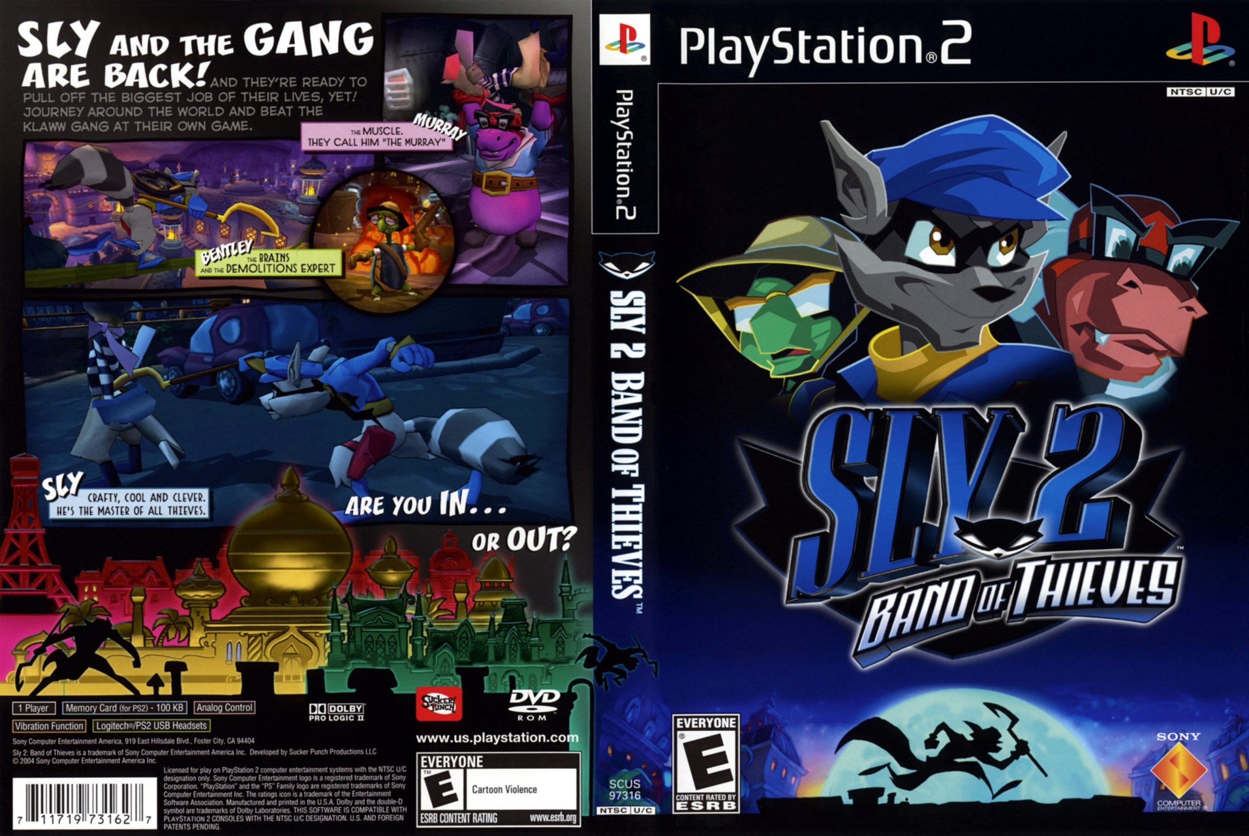 Sly 2: Band of Thief